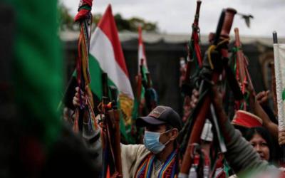 La Minga indígena ya está en Bucaramanga